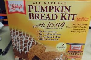 Pumpkin Bread Kit